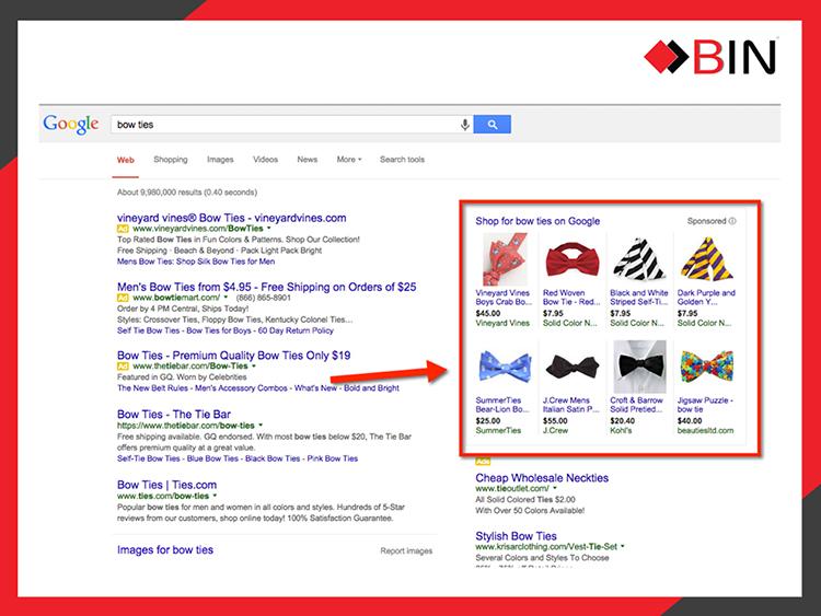 Quảng cáo Google Shopping - Quảng cáo mua sắm