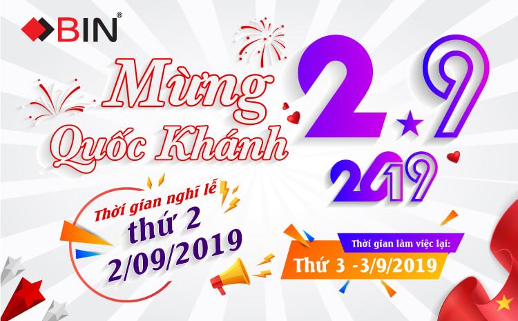 Mừng Quốc Khánh 2/9/2019