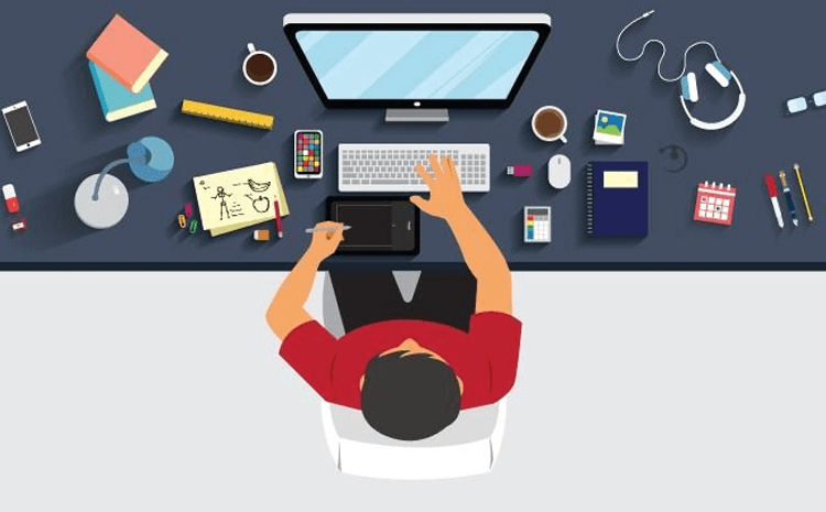 Nếu không có Designer thì bạn có thể dùng phần mềm miễn phí Canva thiết kế.