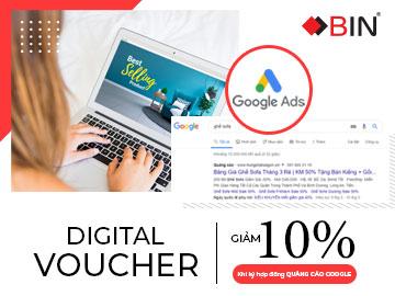 Nhận ngay voucher giảm giá 10% khi ký hợp đồng quảng cáo google