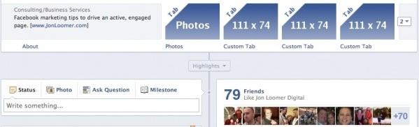 Kích thước chuẩn trên Facebook